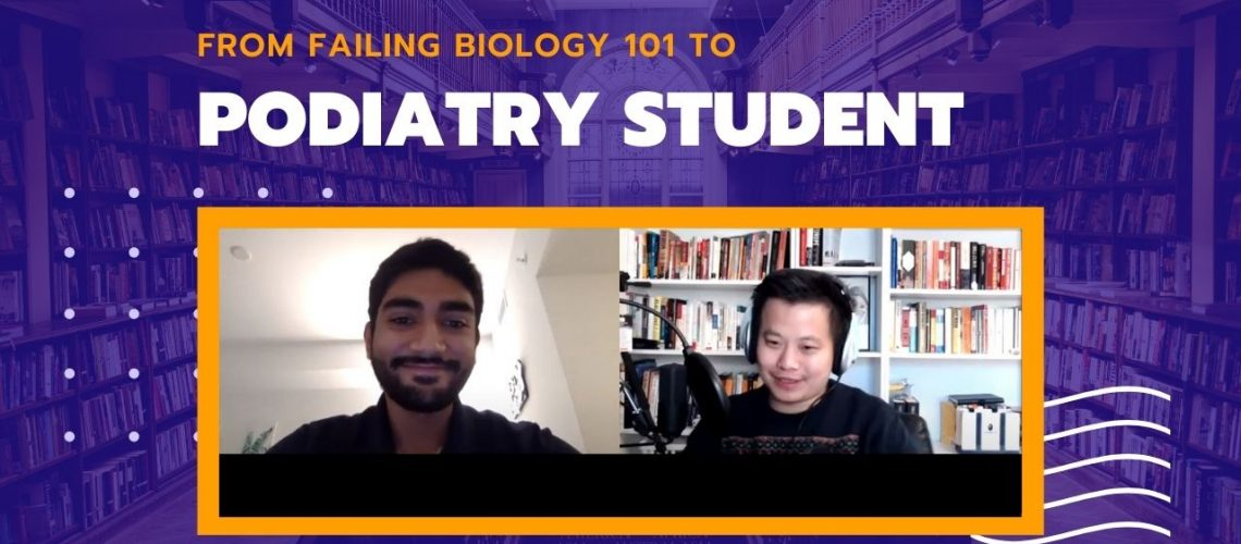 From Failing Biology 101 to Podiatry Student (1)